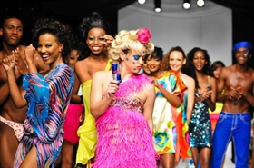 IWFW Runway 2 Gets Funky with International Designer INDASHIO